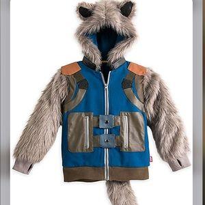 Marvel Rocket Raccoon Hooded Costume Jacket-4-NWT